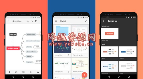 XMind思维导图 v1.2.8 解锁版 手机思维导图软件 Android 第1张