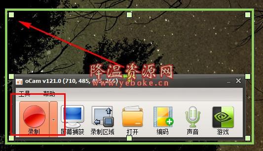 oCam屏幕录像工具 v455 破解版 电脑录屏软件 Windows 第3张