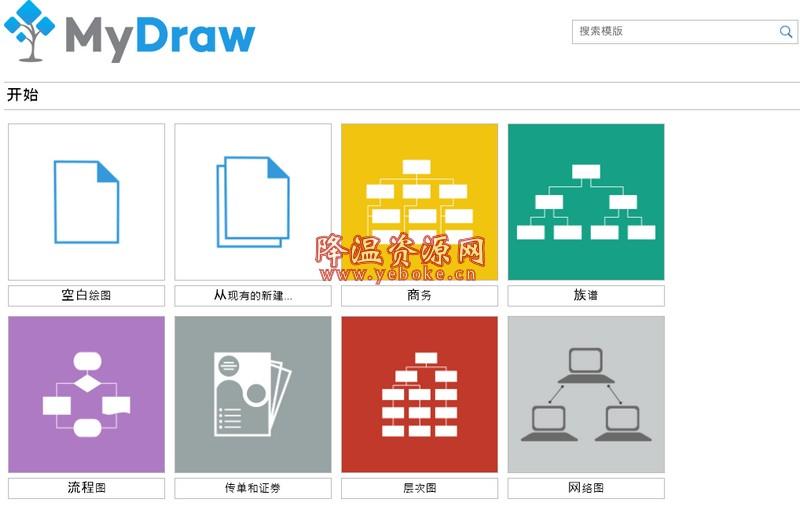 MyDraw v4.1.0 中文解锁版 强大的思维导图软件 Windows 第1张