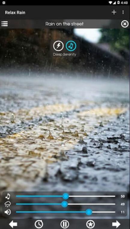 下雨之声Relax Rain安卓版下载 v6.1.3